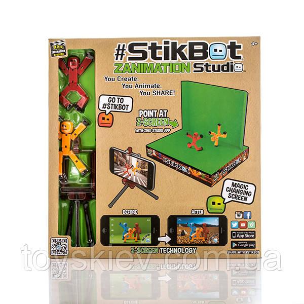 Stikbot Стикбот Анимационная студия со сценой 2102