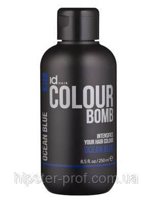 Тонирующий бальзам для волос насыщенный синий IdHair Colour Bomb Ocean Blue