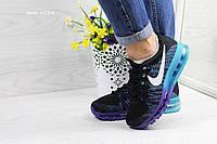 Стильные кроссовки Найк Air Max 2017 женские\подросток, текстиль