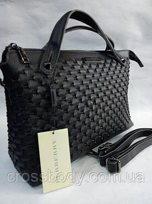 Женская сумка из кожи BURBERRY в стиле