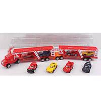 Автовоз с прицепом и машинками Тачки 899-24