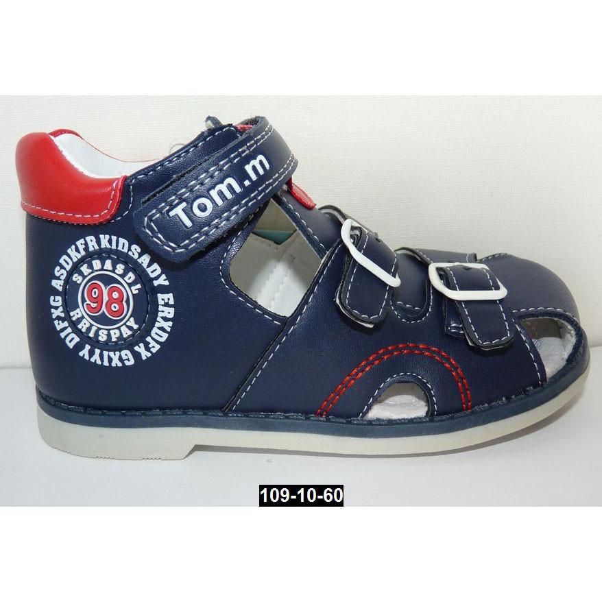 Босоножки для мальчика Том.m 22 размер (13.7 см), каблук Томаса, супинатор, ортопеды