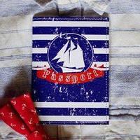 Обложка для паспорта Капитанская