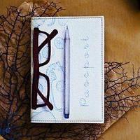 Обложка для паспорта Писательский набор