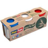 "Игровое тесто ""Play-Toys"" 3х100г."