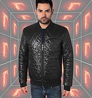 Куртка весенняя - 136 черный