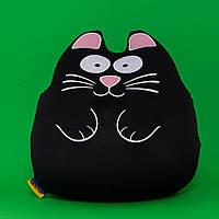 Мягкая игрушка-антистресс Ручной кот-муфта, черный