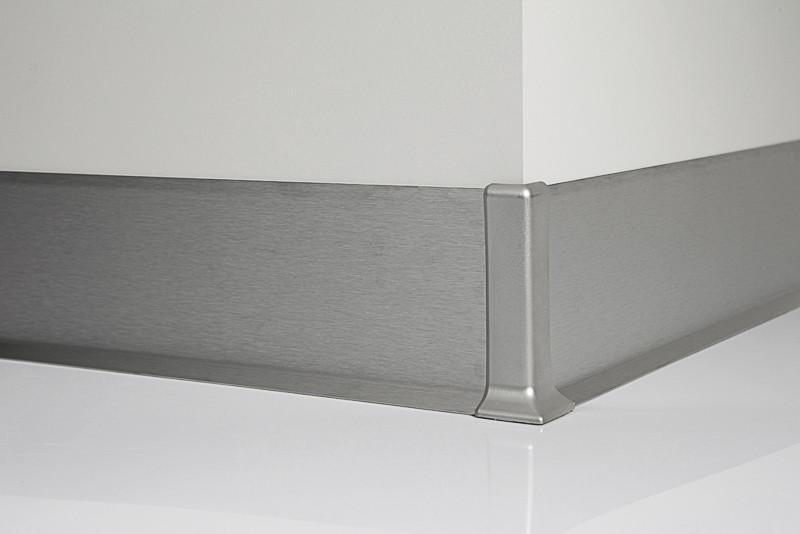 Алюминиевый плинтус Metal Line 90