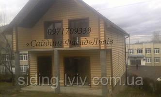 Купити Блок-хаус вініловий пластиковий Львівська область