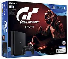 Игровая Приставка PlayStation 4 Slim 1Tb Black (Gran Turismo)