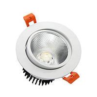 LED светильник врезной Downlight 7W COB 6000К