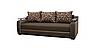 Диван Garnitur.plus Браво коричневый 220 см