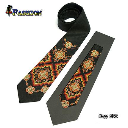 Вышитый галстук Богдан, фото 2