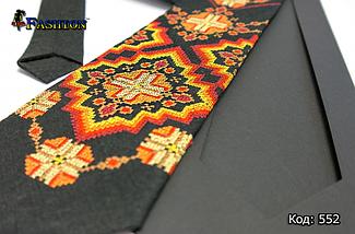 Вышитый галстук Богдан, фото 3