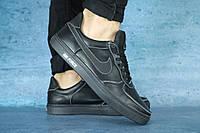 Кроссовки Nike air Force натур кожа  (реплика), фото 1