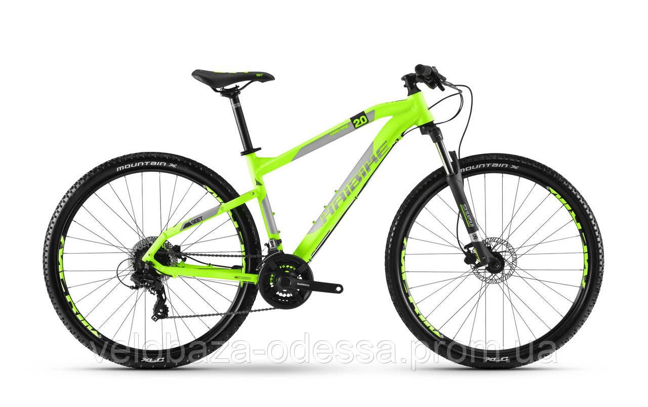 "Велосипед Haibike SEET HardNine 2.0 29"", рама 55см, 2018, лайм"