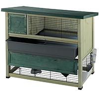 Деревянная клетка для кроликов RANCH 120 FERPLAST