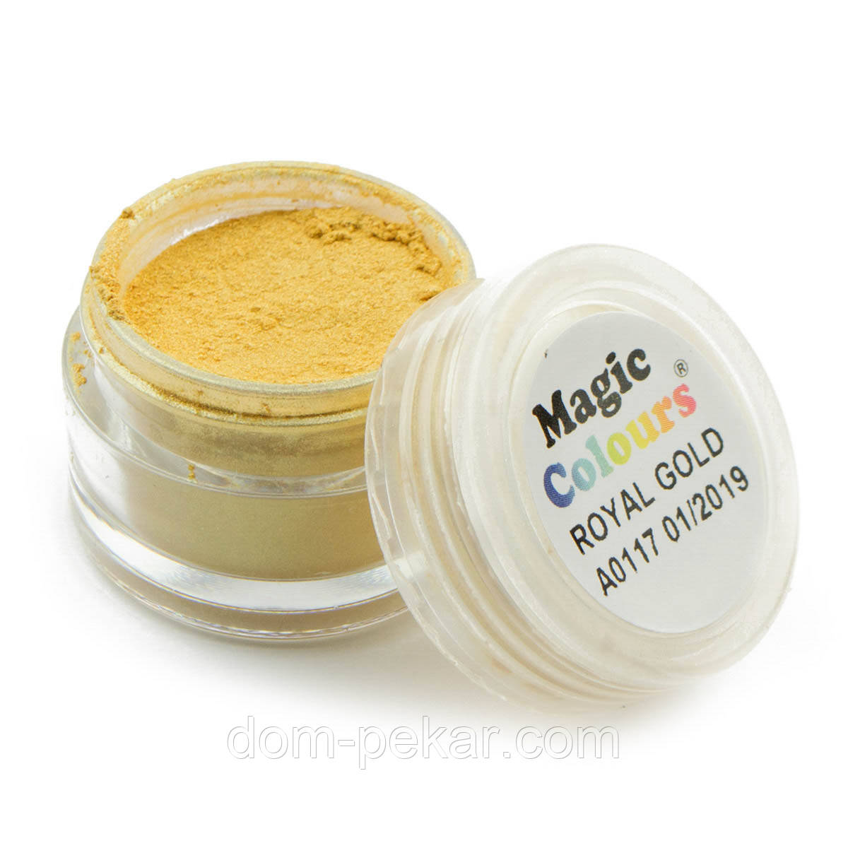 Пудра блестящая Золотая Magic Colours 7 мл