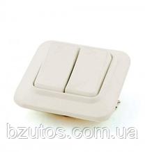 Вимикач С56-У02 2-клавішний