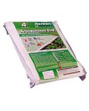 Агроволокно Agreen 17 - (1.6м х 10мп). Агроволокно белое в пакетах.