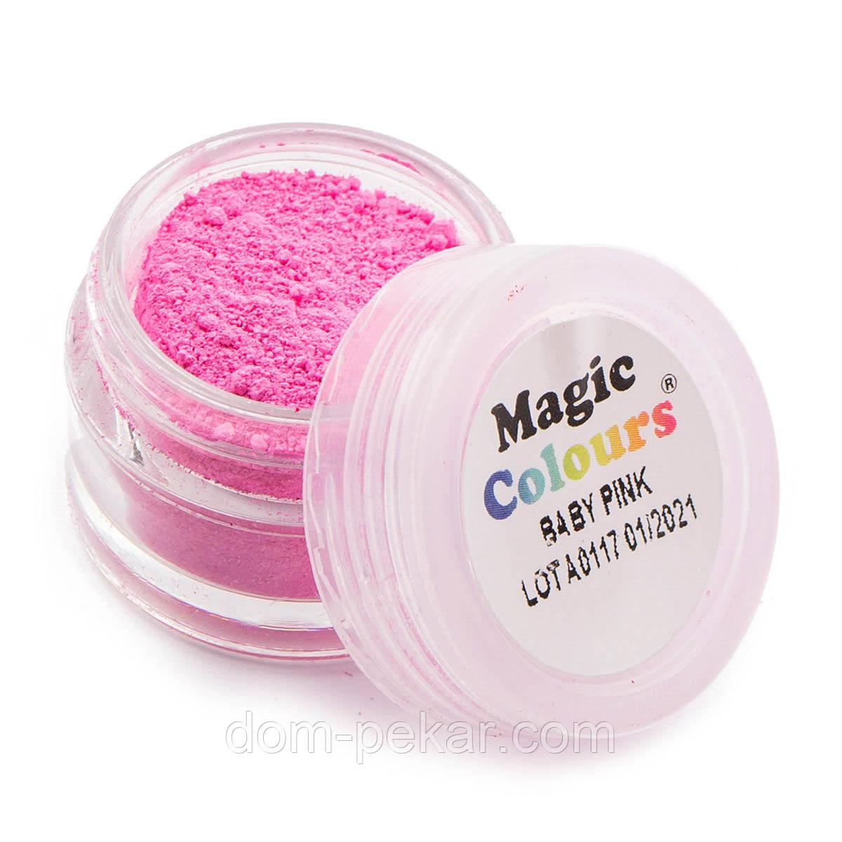 Пудра матовая Розовые румяна Magic Colours 7 мл