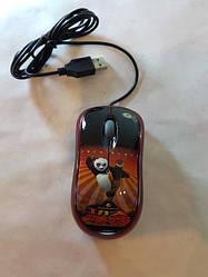 Мышь компьютерная проводная Кунг Фу Панда