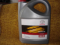 Моторное масло Toyota 5w-40 5л.