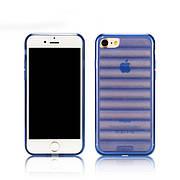 """Силиконовый чехол на iPhone 7 """"Remax"""" Wave - Blue"""