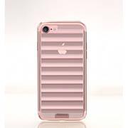 """Силиконовый чехол на iPhone 7 """"Remax"""" Wave -Pink"""