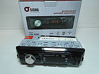 Автомагнитола Sigma USB/FM/AUX/SD/MP3/WMA, эквалайзер