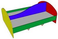 Кровать двухместная для детского сада, фото 1