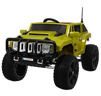 Детский электромобиль Джип Hummer M 3570 EBLR-10 зеленый ***