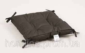 Подушка на стул Lotus Optima 40*40*5 с завязками хаки