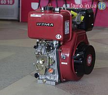Дизельный двигатель Weima WM188FBE (12,0 л.с., эл. старт, 25 мм шпонка, съёмный цилиндр)
