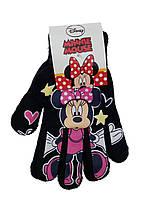 Перчатки на девочку Минни