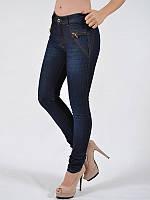 Стильные женские джинсы скинни узкие высокая посадка A.M.N. (amnesia) 8115STN, фото 1