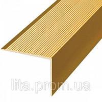 Угол П19 03 0,9м золото 35*35мм ОМиС