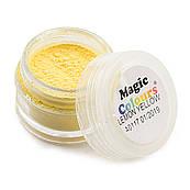 Пудра матовая Желтая Magic Colours 7 мл