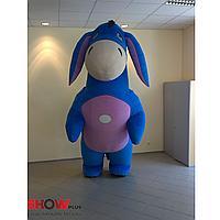 Надувной костюм (пневмокостюм, пневморобот) Ослик Иа Дисней, фото 1