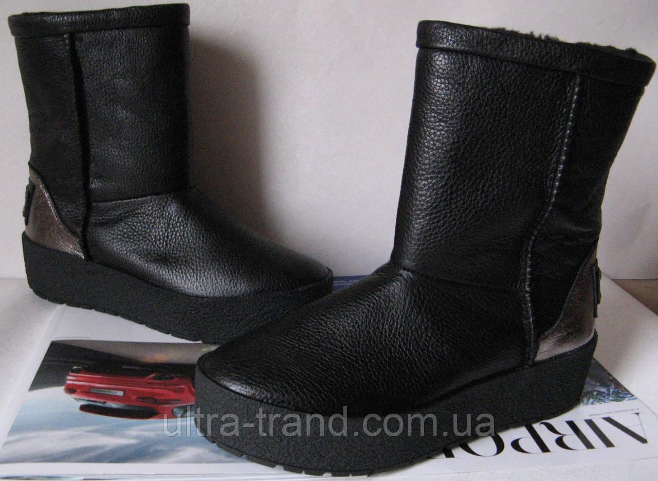 Marco зимние женские теплые угги! сапоги ботинки уги взуття Ugg кожа