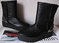 Marco зимние женские теплые угги! сапоги ботинки уги взуття Ugg кожа, фото 1