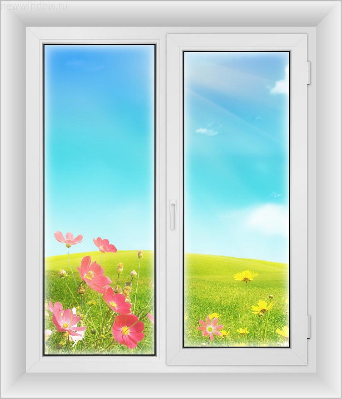Окна пластиковые 1300*1400-Элит