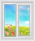 Окна пластиковые 1300*1400-Стандарт