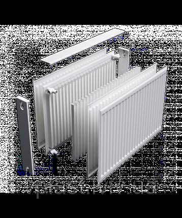 Радіатор сталевий DJOUL 22 тип 500х1600 пліч, фото 2