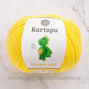 Пряжа Kartopu Amigurumi желтый