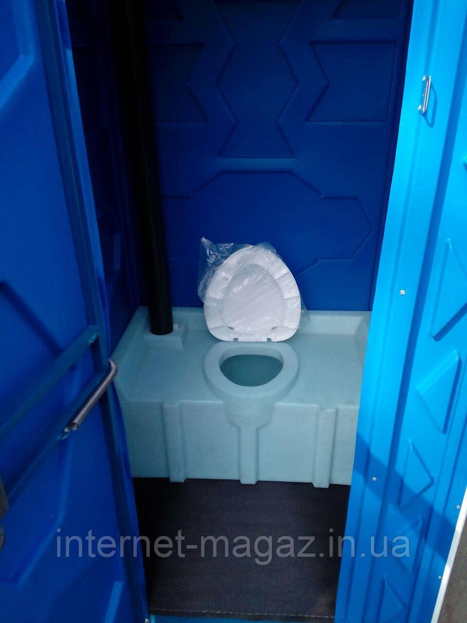 Пластиковый туалет дачный
