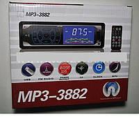Автомагнитола сенсорная  MP3-3882 с пультом ДУ