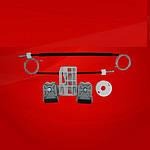 Ремкомплект стеклоподъемника Skoda Fabia II 2007 - 2014 Перед прав дверь OEM:5J4837462 /FP6408132 /6915PSG2