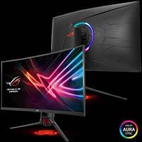 "Монітор LCD Asus 31.5"" XG32VQ HDMI, 2xDP, USB3.0, Audio, VA, 2560x1440, CURVED, 144Hz,4ms, FreeSync (90LM03S0-B01170)"