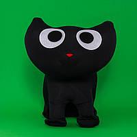 Котенок Лаки черный с сердечком
